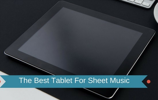 Sheet Music Tablets